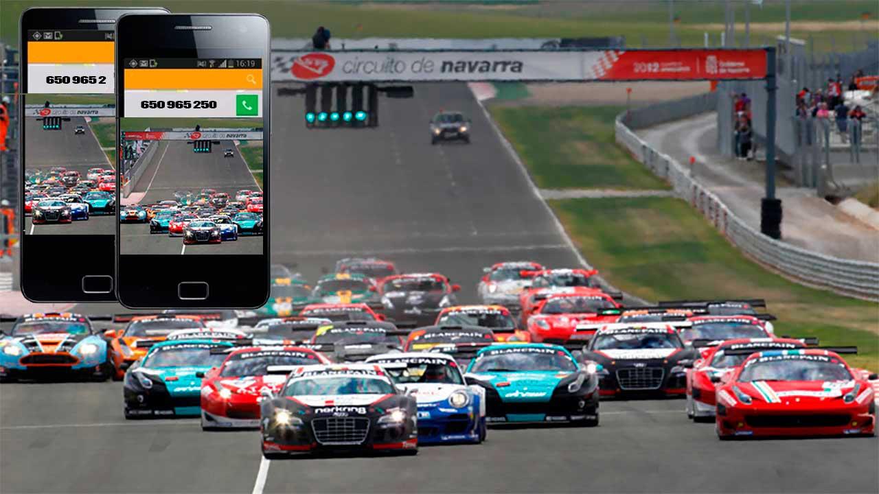 Circuito Los Arcos : Taxi circuito navarra taxi carreras circuito de navarra